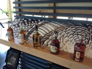 Wild Turkey interactive display