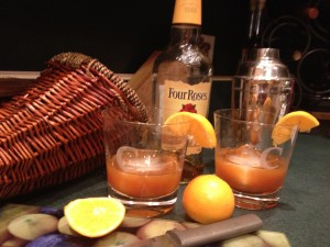 Pumpkin Pie Old Fashioned