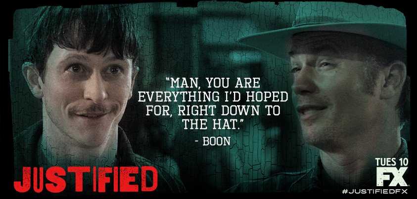 Justified Boon interview