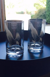 Eagle Rare glasses