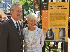 Mayor and Cynthia Bourbon District