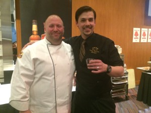 Volare's Chef Josh Moore and bartender Isaac Fox