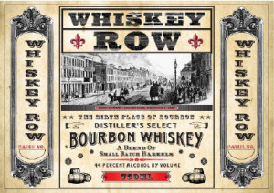 whiskey row bourbon