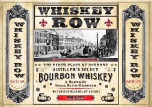 whiskey row bourbon