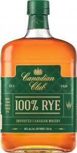 CC 100 Rye Bottle Shot